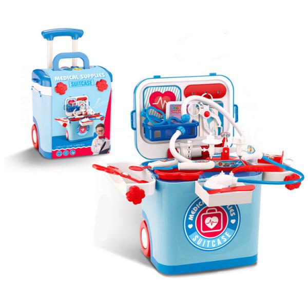 Medical Supplies Suitcase Docter Set Koper