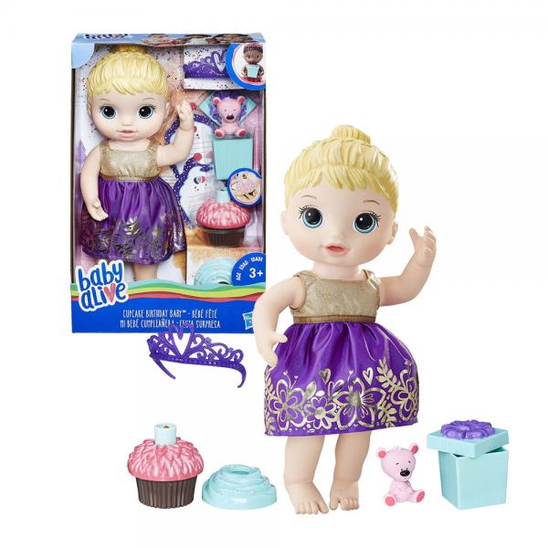 Boneka Baby Alive Cupcake Birthday Baby