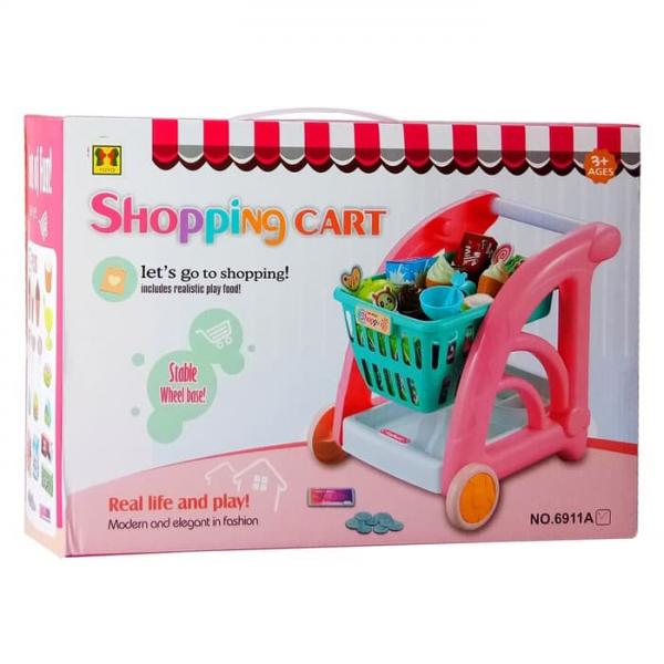Mainan Shopping Cart Trolley No.6911A