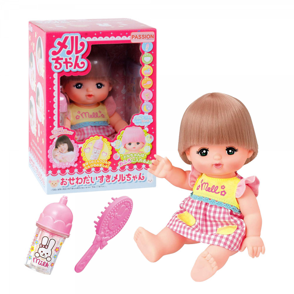Mell Chan Doll Set Standard Hair Color Change Osewa Daisuki Mell Chan (Japan Import)