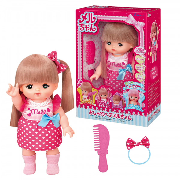 Boneka Mell Chan Doll Set Standard Fashionable Hair (Japan Import Original)