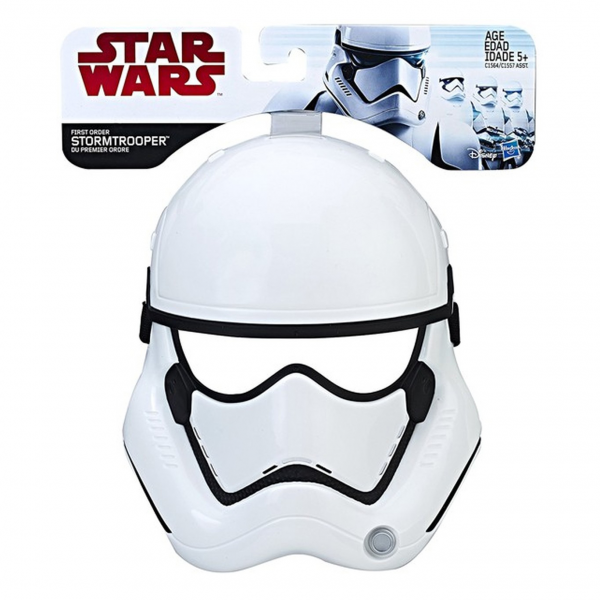Kostum Topeng Star Wars - The Last Jedi Stormtrooper Mask