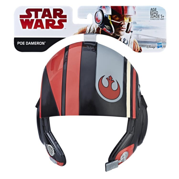 Kostum Topeng Star Wars - The Last Jedi Poe Dameron Mask