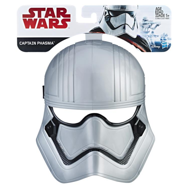 Kostum Topeng Star Wars - The Last Jedi Captain Phasma Mask