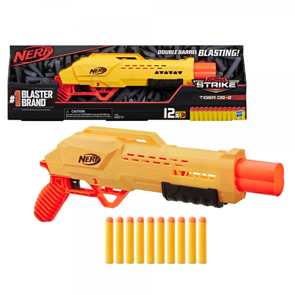 Nerf Alpha Strike Tiger DB-2 Blaster