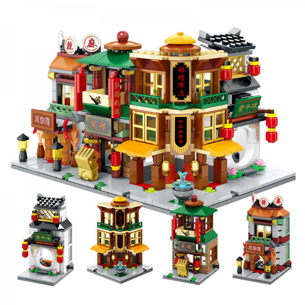 Sembo Block 4in1 SD6096 - SD6099 China Town Lego KW