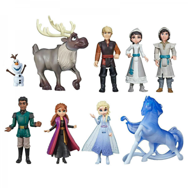 Figure Frozen 2 isi 9 pcs
