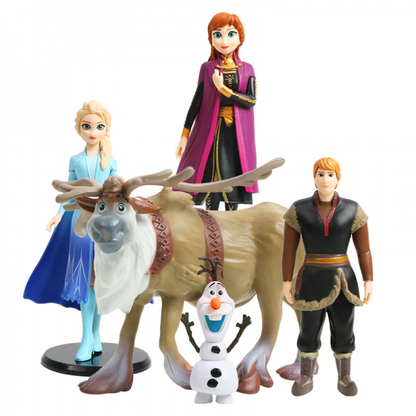 Figure Frozen 2 isi 5 pcs