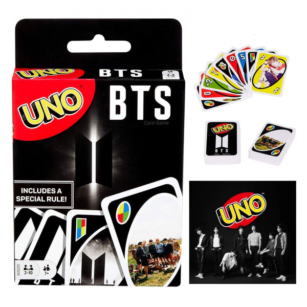 UNO BTS K-POP BT21 Family Games