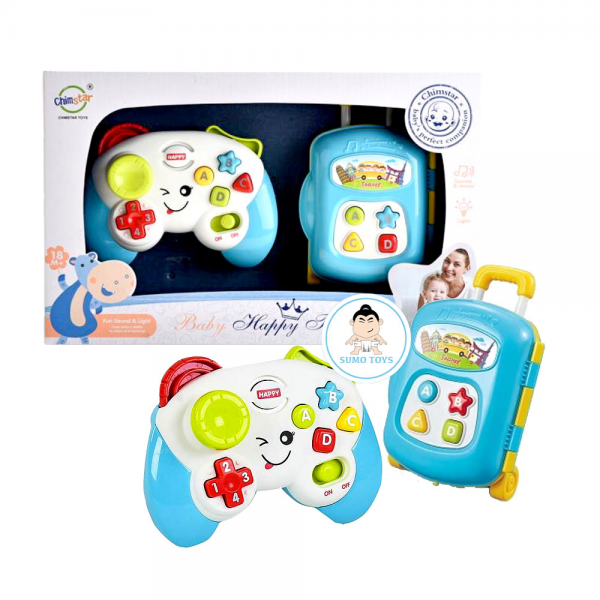 Mainan Baby 2in1 Music Controller Joystick and Luggage