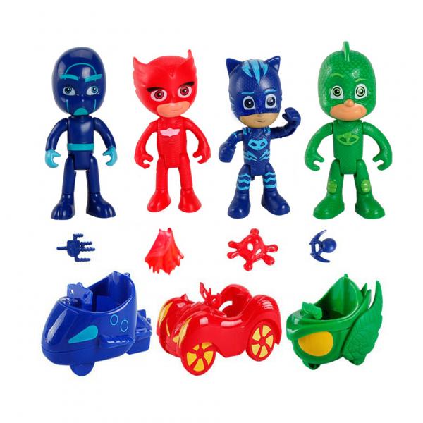 Figure PJ Masks dan Accessories isi 11 pcs