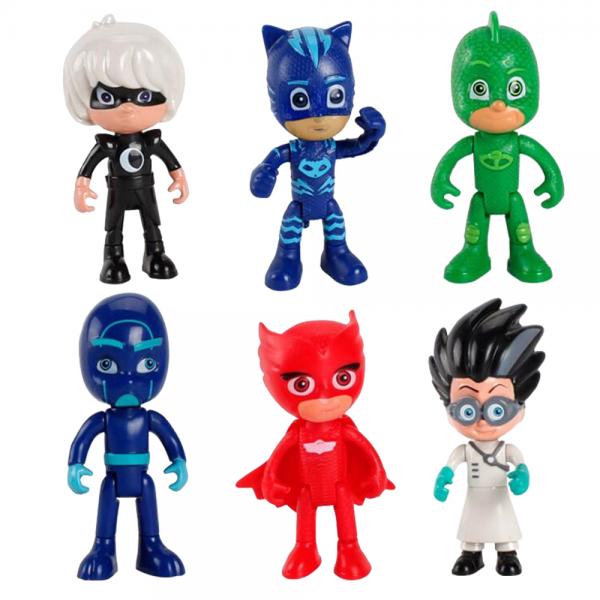 Figure PJ Masks isi 6 pcs