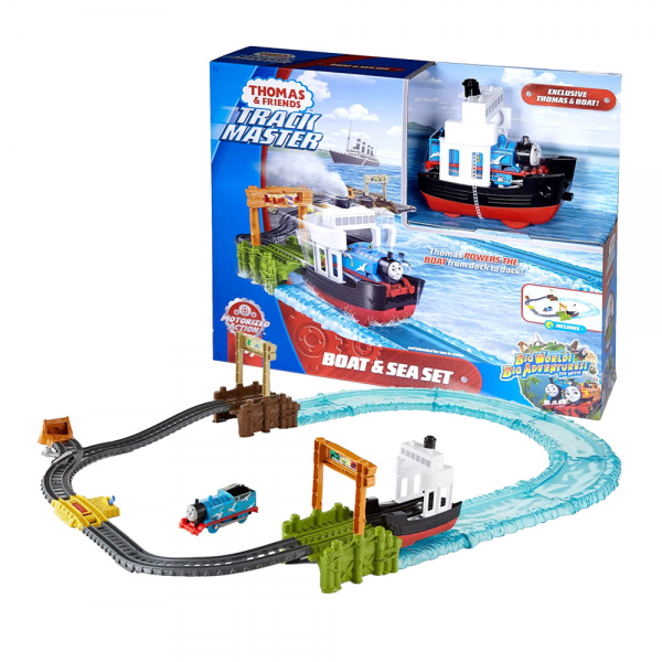 Fisher-Price Thomas & Friends TrackMaster Boat & Sea Set Track