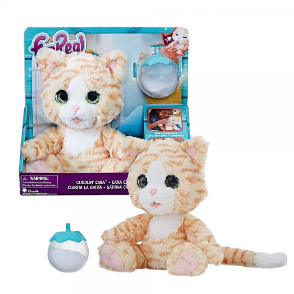 Boneka Kucing FurReal Cuddlin Cara