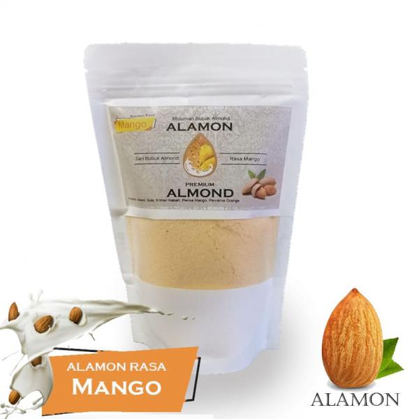 Susu Almond Rasa Mangga
