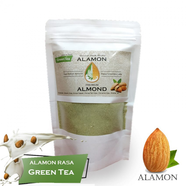 Susu Almond Rasa Green Tea