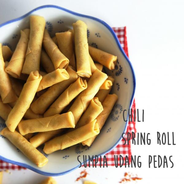 Sarikaya Udang Pedas/Shrimp Roll Sumpia1