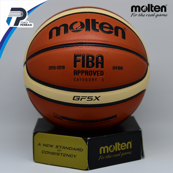 Bola Basket Molten GF5X ( Indoor / Outdoor ) FIBA APPROVED