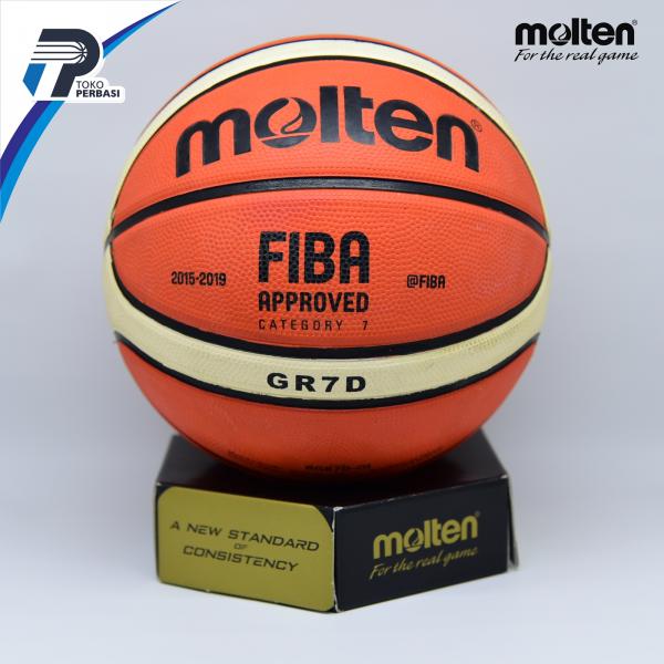 Bola Basket Molten GR7D Orange ( Outdoor )