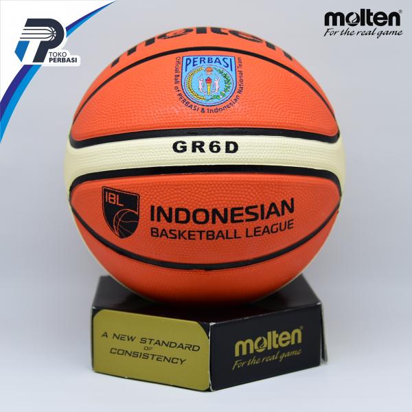 Bola Basket Molten GR6D Orange ( Outdoor )