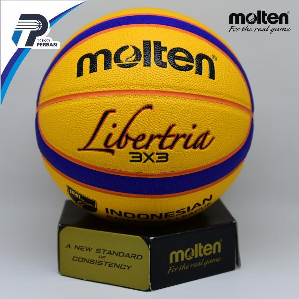 BOLA BASKET MOLTEN 3X3 KULIT ( B33T5000 ) FIBA APPROVED