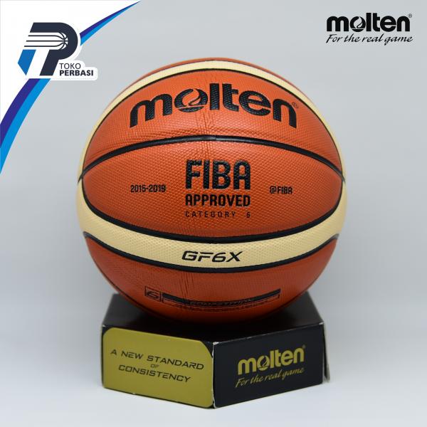Bola Basket Molten GF6X ( Indoor / Outdoor ) FIBA APPROVED