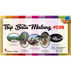 Paket Wisata 4D3N Jelajah Batu Malang