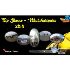 Paket Wisata Bromo - Air Terjun Madakaripura 2D1N