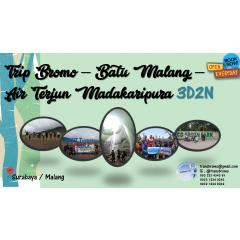 Paket Wisata Bromo - Batu Malang - Air Terjun Madakaripura 3D2N