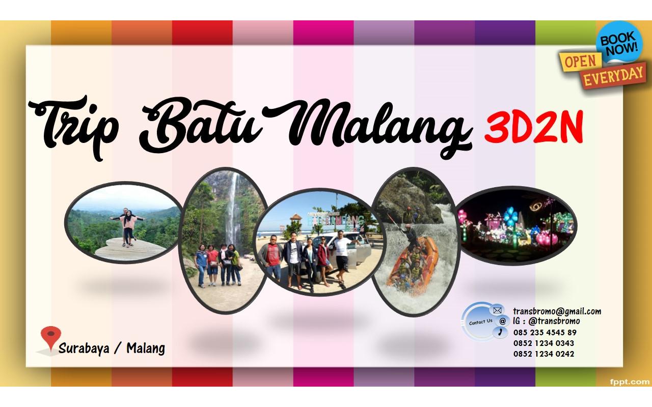 Transbromo Com Paket Wisata 3d2n Jelajah Batu Malang