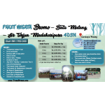Paket Wisata Bromo - Batu Malang - Air Terjun Madakaripura 4D3N