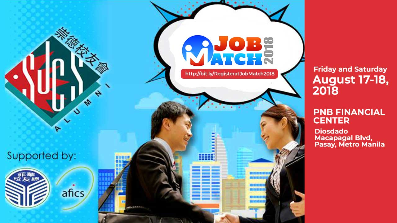 Great Job Opportunities Await You at Jobmatch 2018! Image