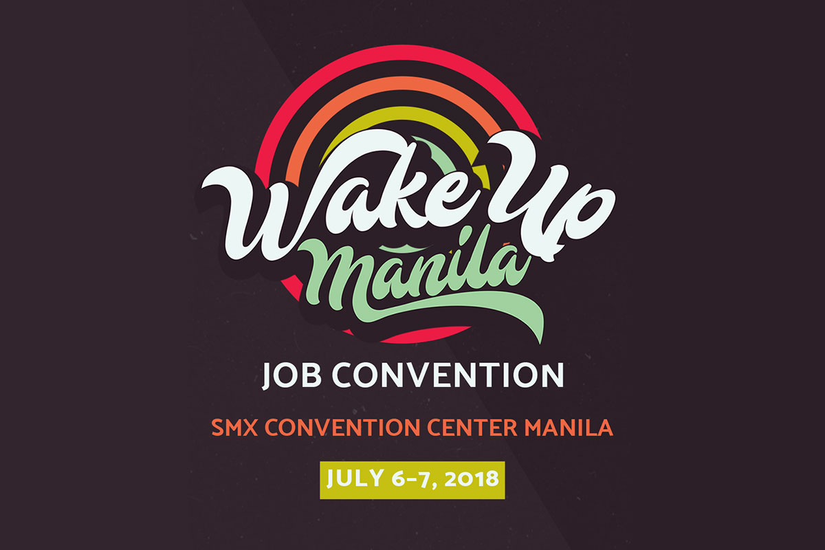 Finally! A Fun Job Fair. Springboard Philippines' Wake Up Manila 2018 Image
