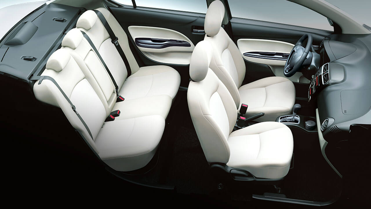 The attraction from luxurious interior