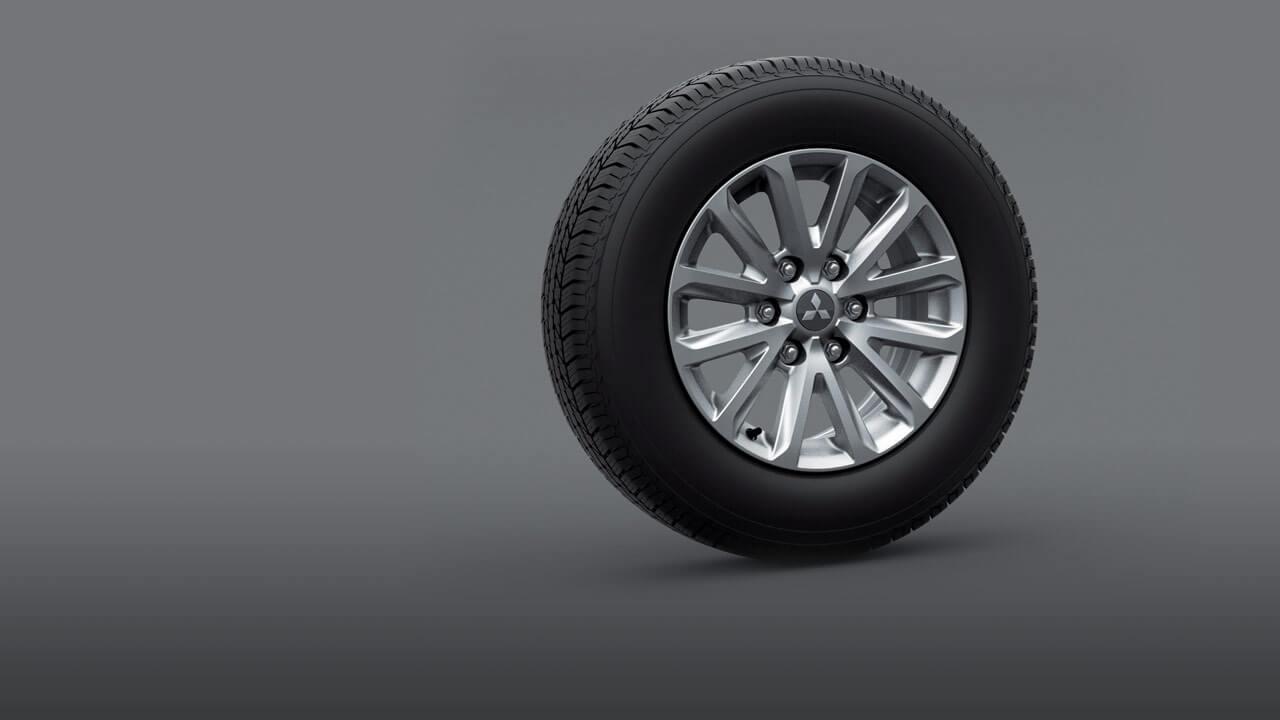 17-inch alloy wheel