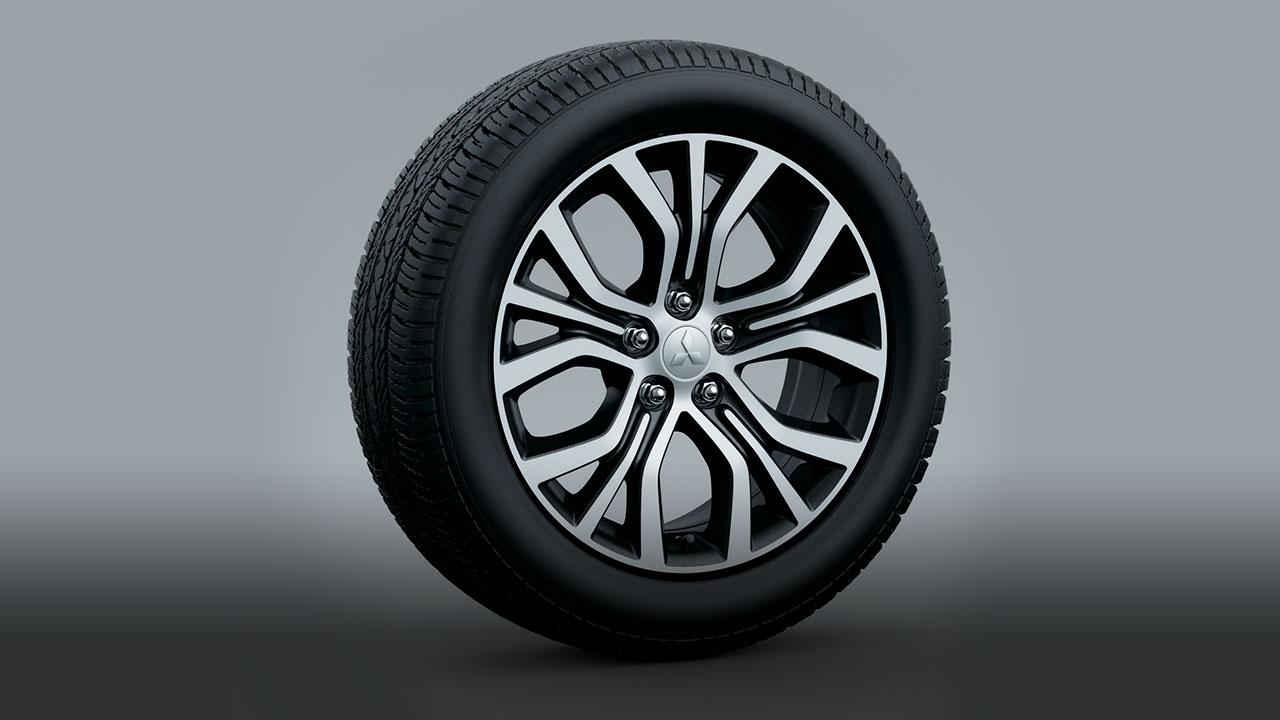 "18"" 2-tone Alloyed Wheels"
