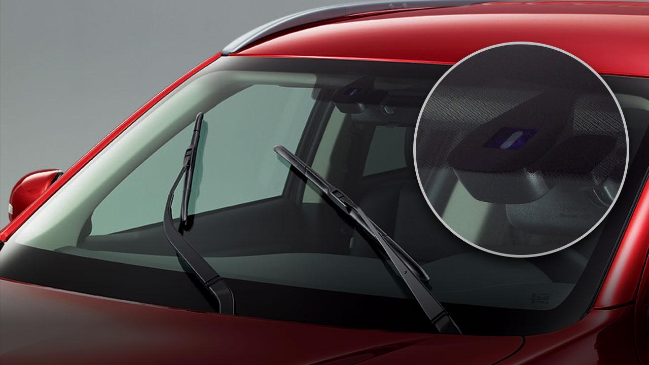 Auto Rain-sensing & Auto Lighting Control