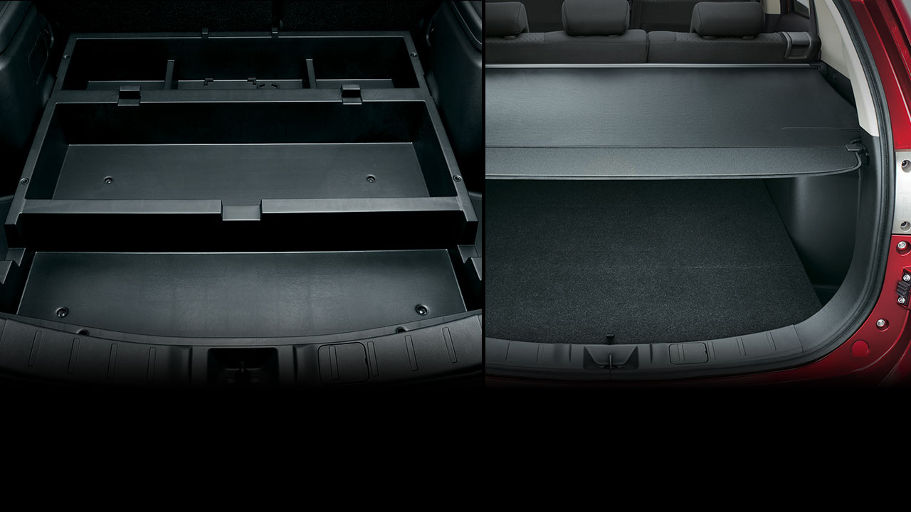 Large Luggage Compartment