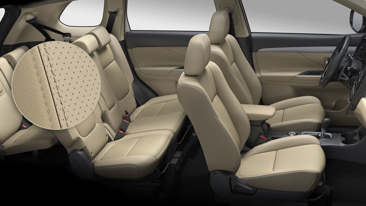 Leather Seats and Power Driver-Seat