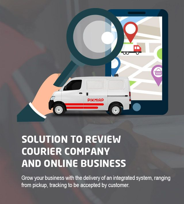 Solutions to Review Courier Company and Online Business