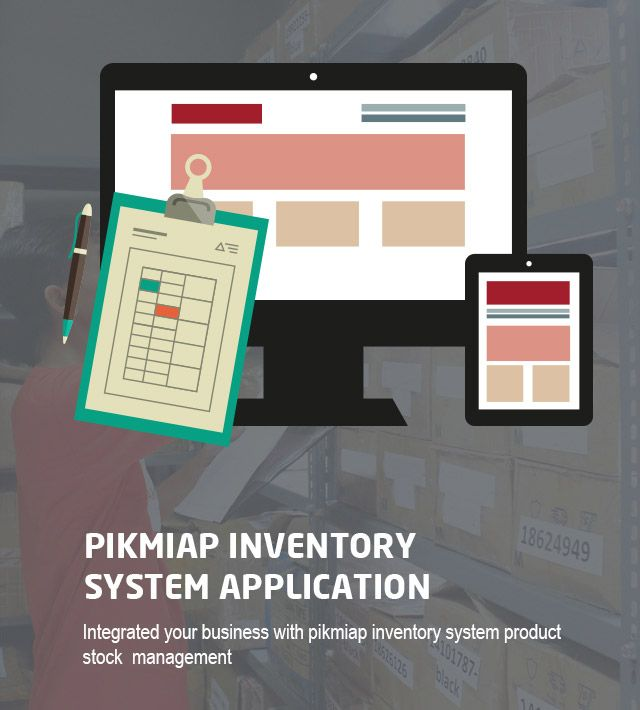 Pikmiap Inventory System Application