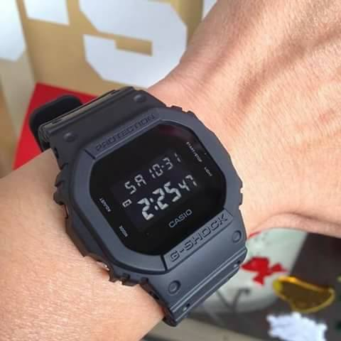 d515f1aee5e6 New Casio G-Shock DW-5600BB-1 Limited Edition Matte Black Shock Resistant  Watch