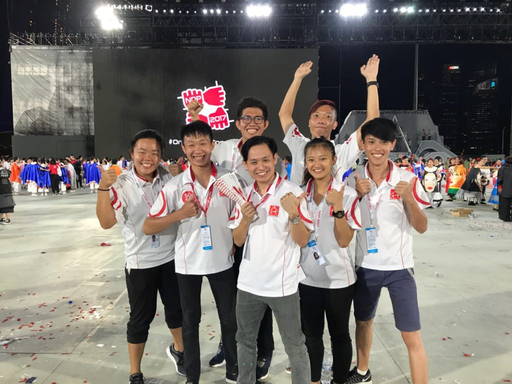 NDP17 team