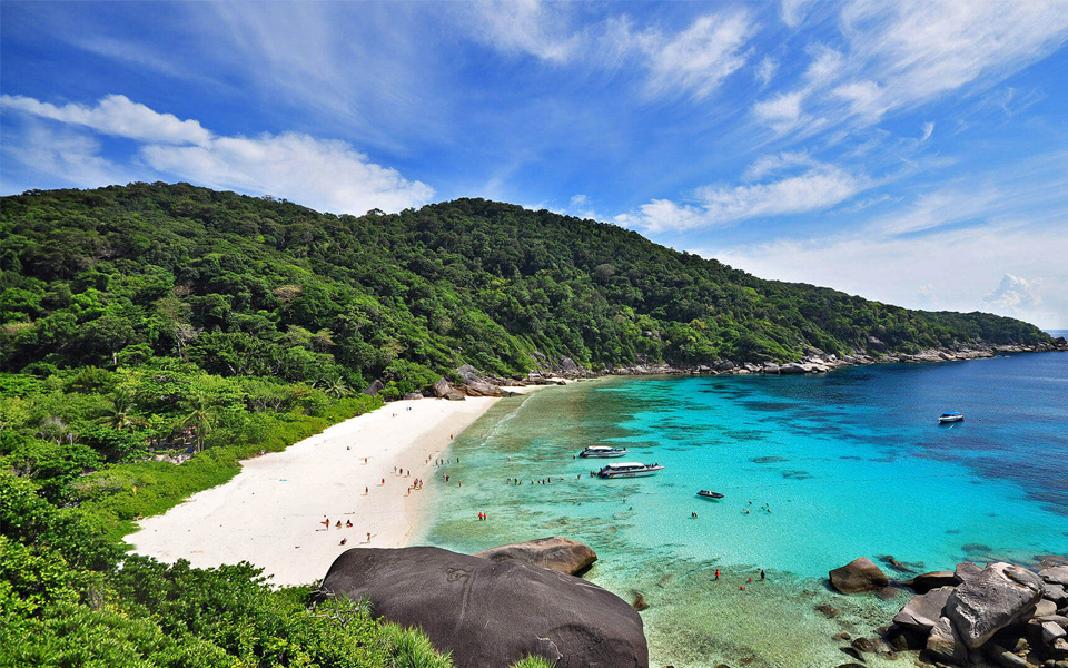 Destination Similan Island Thailand