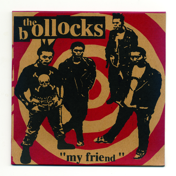 bollock my friends ep front cover brown.jpg