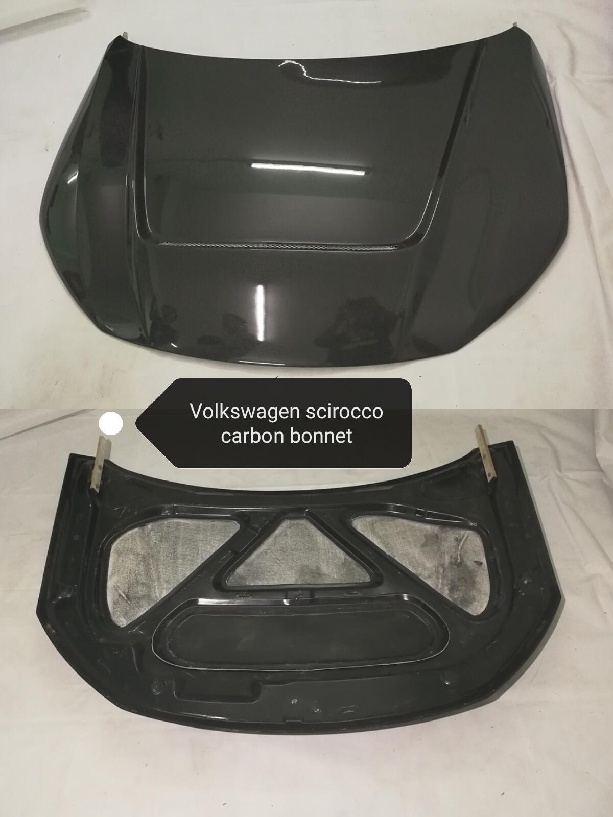 Volkswagen scirocco carbon bonnet.jpg
