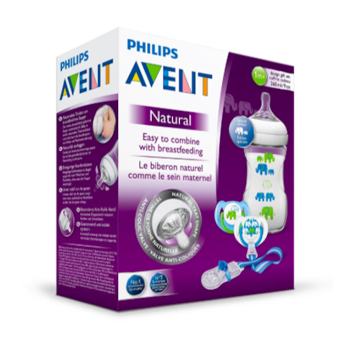 Philips Avent Natural Baby Bottle (SCD627:01) 260ml:9oz 2.png