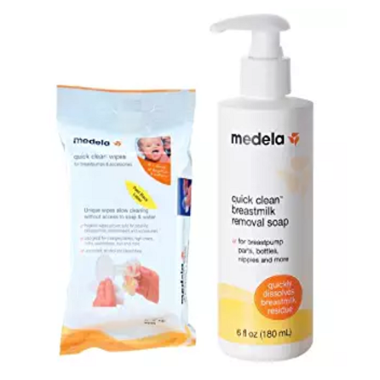 Medela Quick Clean Breastpump & Accessory Wipes WITH Breastmilk Removal Soap.png
