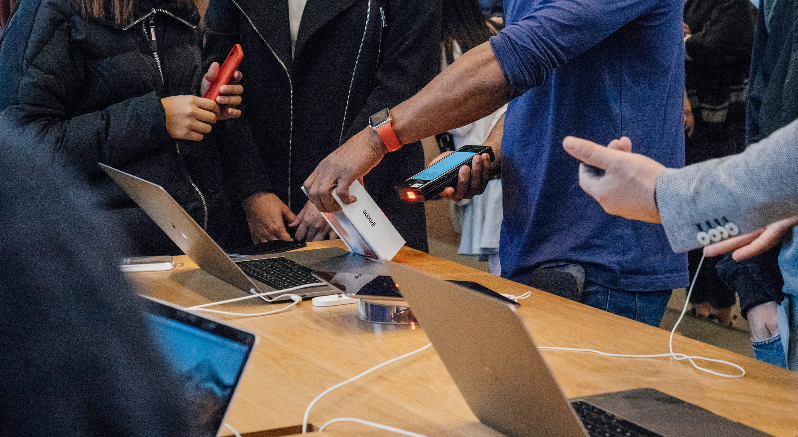A customer experience at Apple