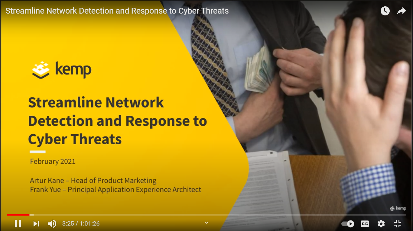 Streamline network detection and response to cyber-threats